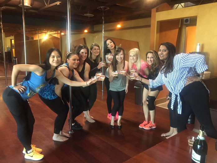 Best Bachelorette Pole Parties in Los Angeles
