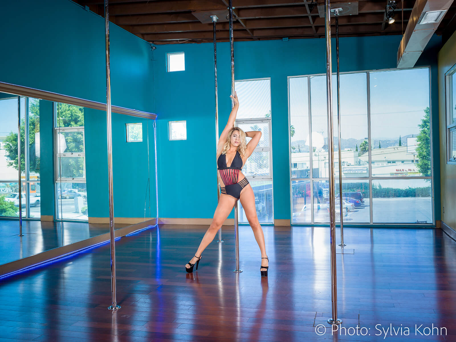 pole dance studio rentals los angeles