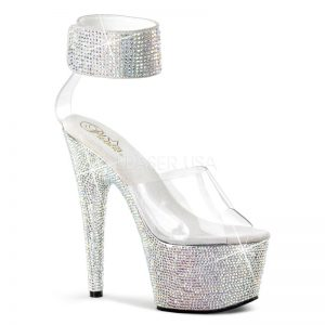 bejeweled stripper shoes
