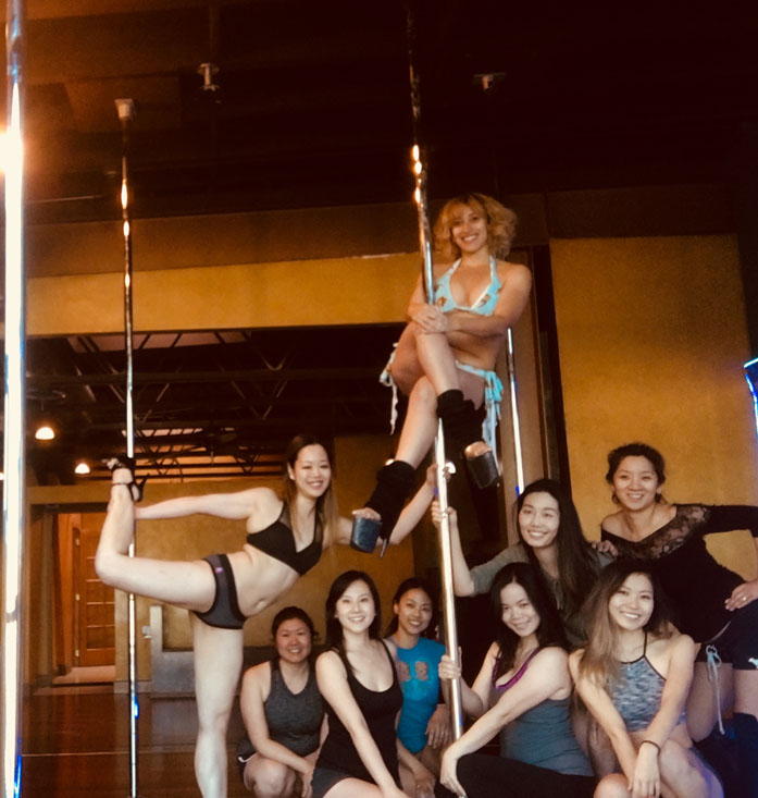 beginner pole dancing classes los angeles